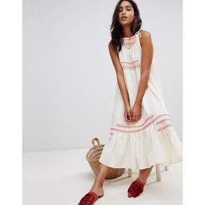 FREE PEOPLE another love linen maxi dress!
